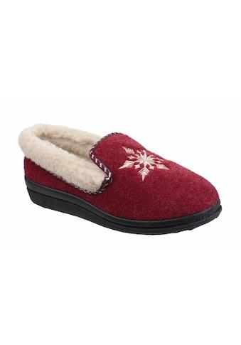 Mirak Hausschuh »Damen Schneeflocke e« kaufen
