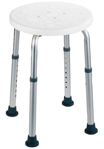 WENKO Duschhocker »Secura«, belastbar bis 120 kg, höhenverstellbar kaufen