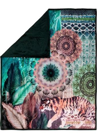 hip Plaid »Yukon«, mit Mandala und Tiger kaufen