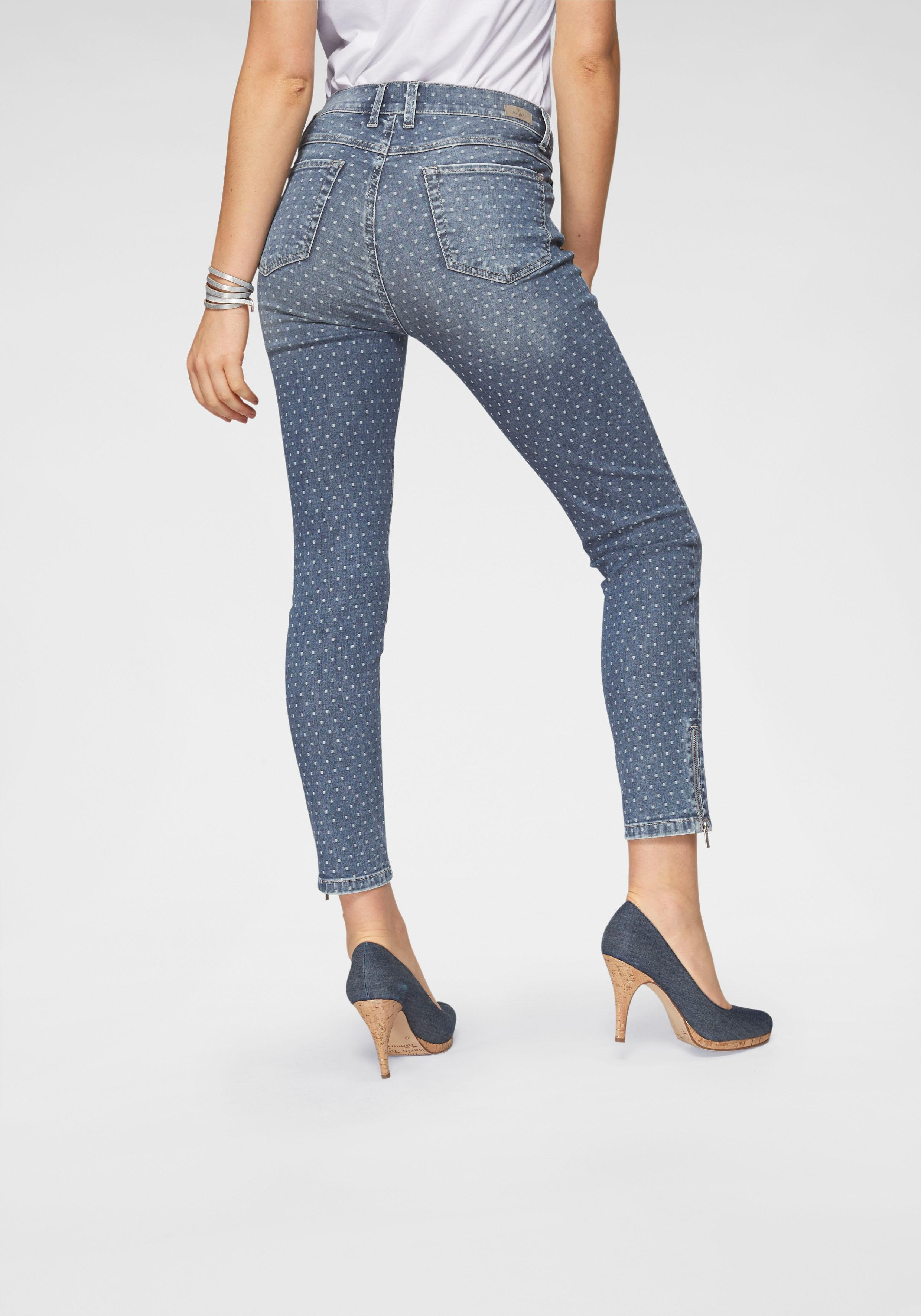 Image of ANGELS Ankle-Jeans »Ankle Skinny Zip«