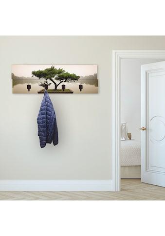 Artland Garderobenpaneel »Chinesischer Bonsaibaum«, platzsparende Wandgarderobe aus... kaufen