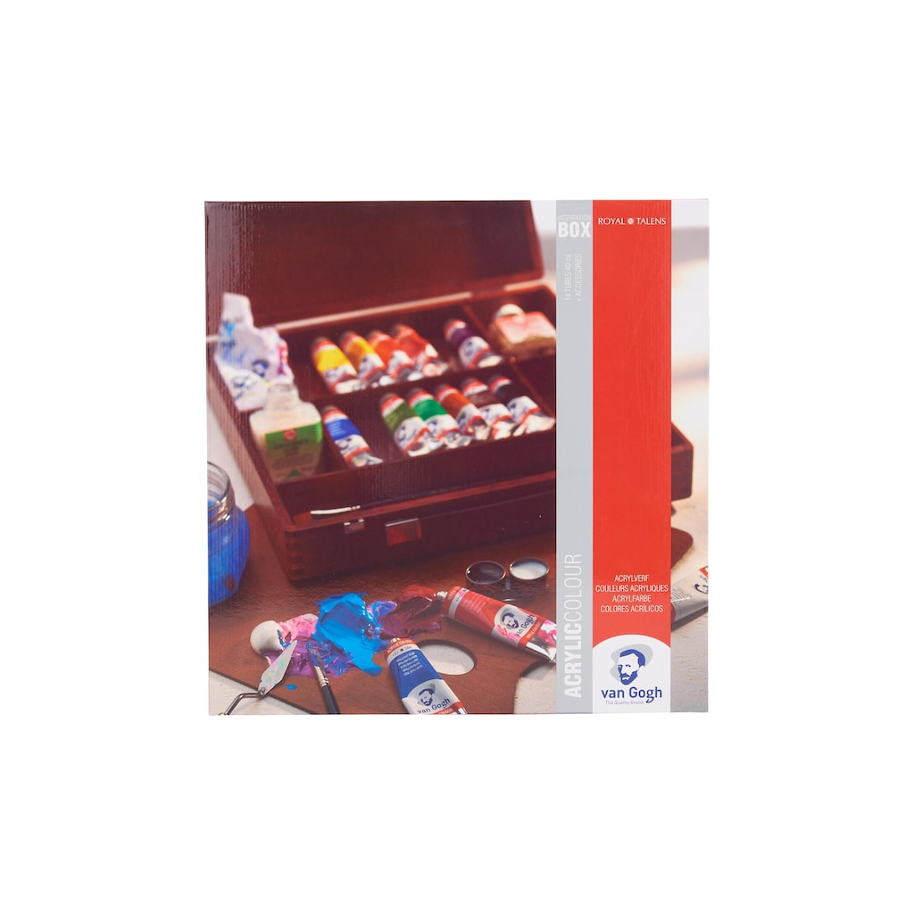 Acrylfarbe »Inspiration Malkasten, 40 ml, Mehrfarbig«