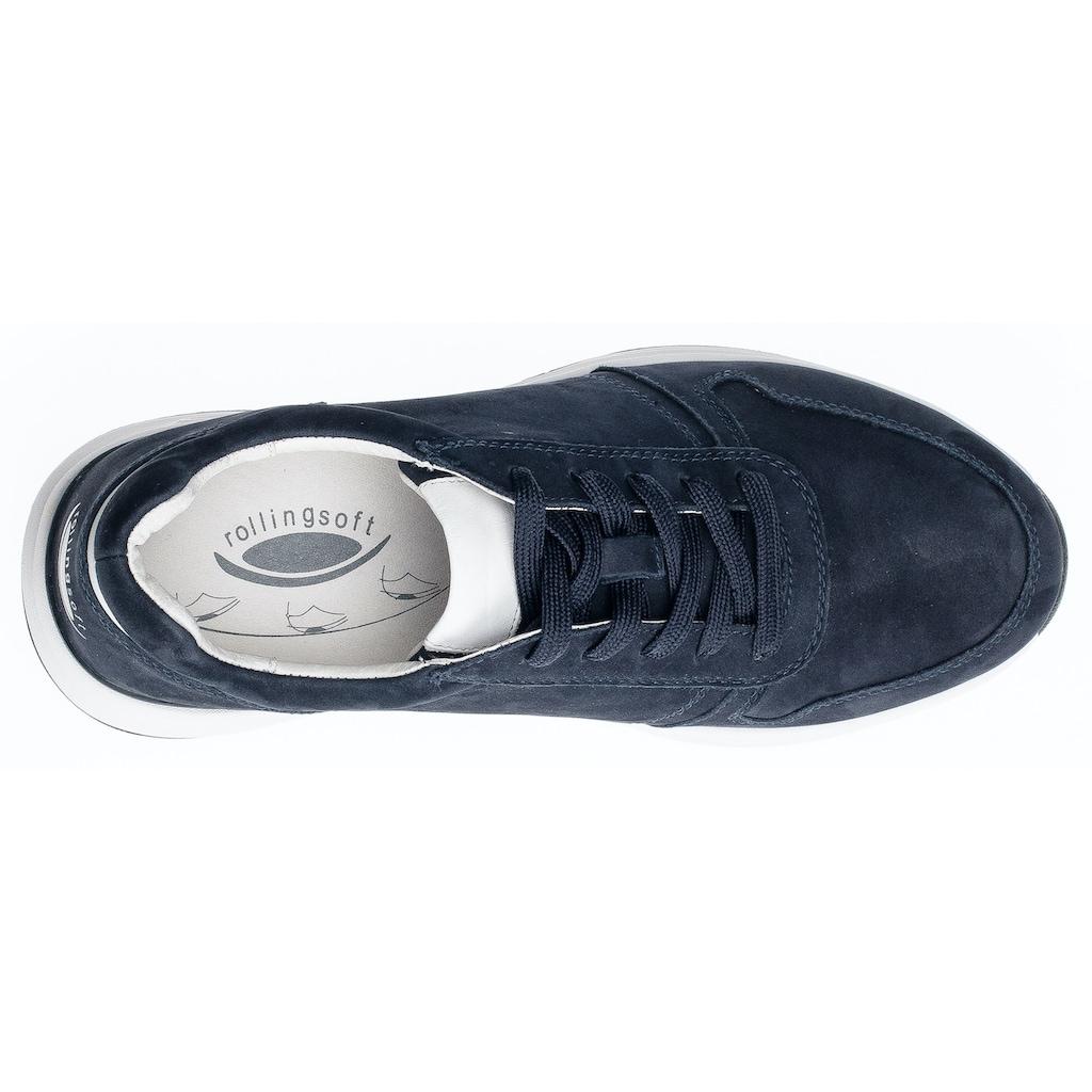 Gabor Rollingsoft Sneaker, mit Gummilaufsohle