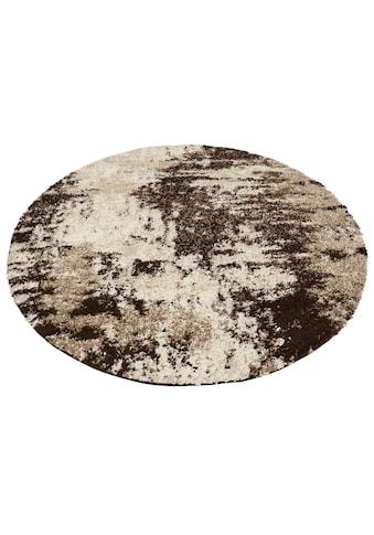 Teppich, »Hannes«, my home, rund, Höhe 30 mm, maschinell gewebt kaufen