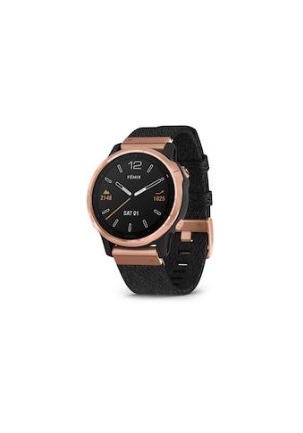 Garmin Smartwatch »Fenix 6S Sapphire Schwarz/Bronzefarben« kaufen