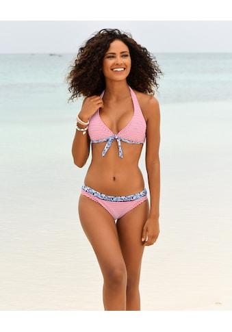 s.Oliver Bügel-Bikini-Top »Jill«, mit Mustermix kaufen