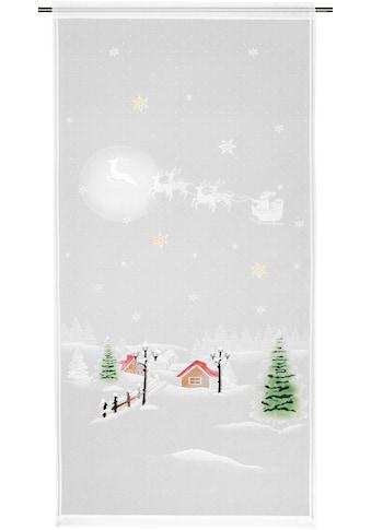 Vorhang, »Winterlandschaft«, moments by ALBANI GROUP, Stangendurchzug 1 Stück kaufen