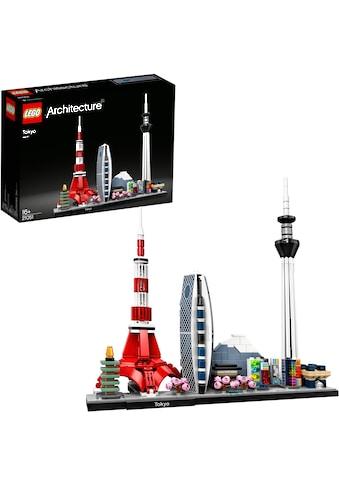 LEGO® Konstruktionsspielsteine »Tokio (21051), LEGO® Achritecture«, (547 St.), Made in Europe kaufen
