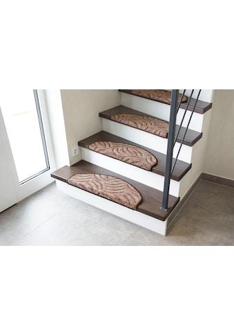 Andiamo Stufenmatte »Amberg«, halbrund, 9 mm Höhe, Hoch-Tief-Struktur, erhältlich als Set mit 2 Stück oder 15 Stück kaufen