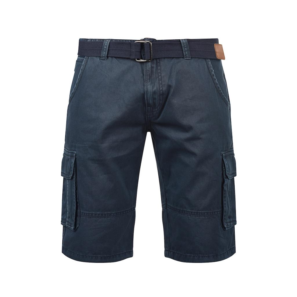 Indicode Cargoshorts »Costa«, kurze Hose mit Gürtel