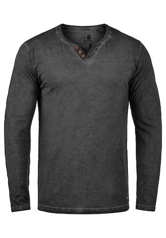 Solid Langarmshirt »Tinox« kaufen