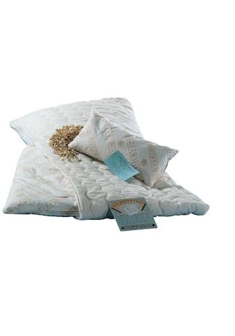 billerbeck Naturkissen »Dinkelkissen mit Bezug«, Füllung: 100% Dinkelspelz (Spreu),... kaufen