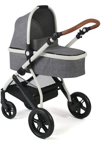CHIC4BABY Kombi-Kinderwagen »Torre, Melange Grau«, 15 kg, ; Kinderwagen kaufen