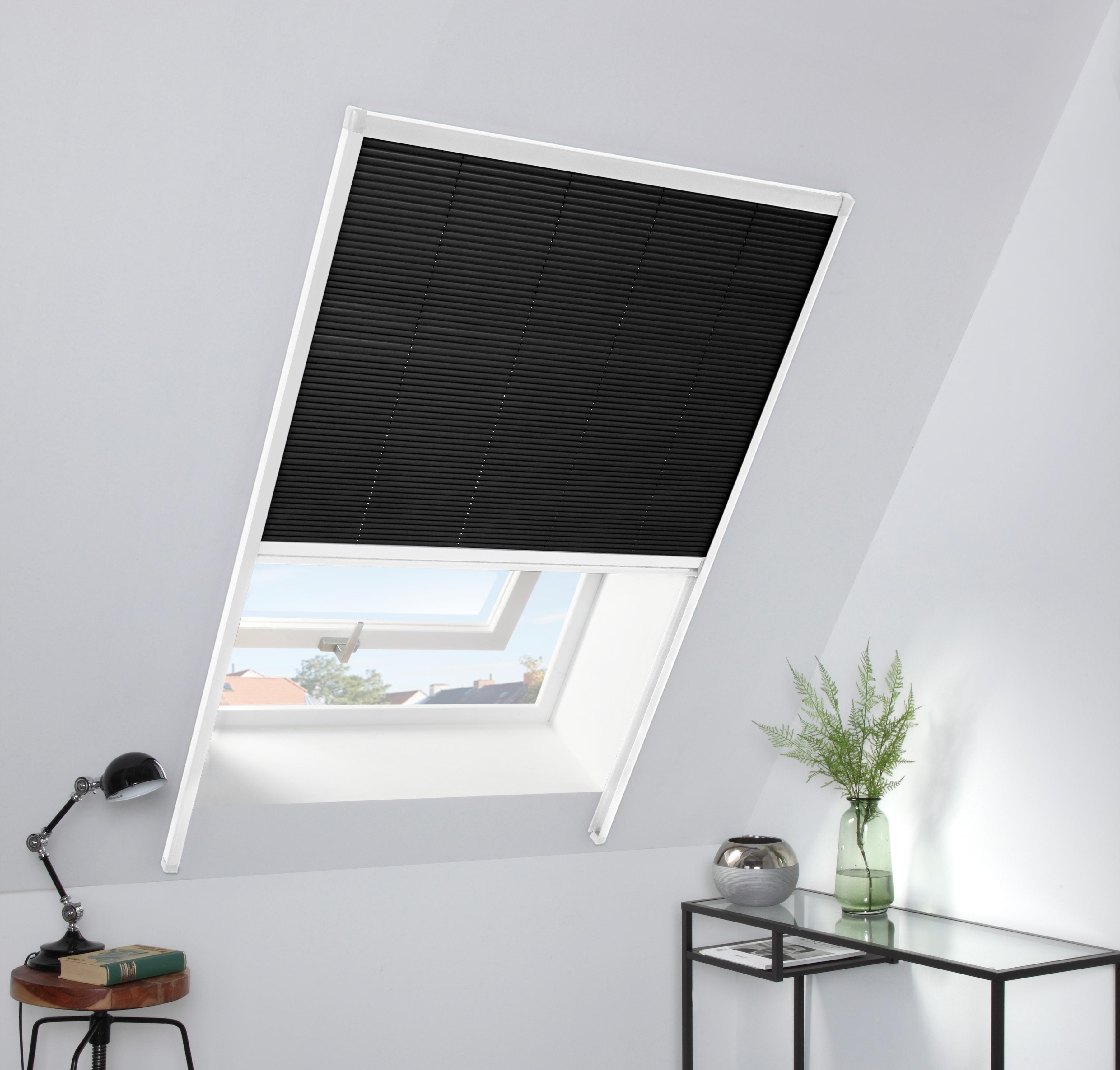 Image of HECHT Dachfensterplissee Lichtschutz, BxH: 110x160 cm