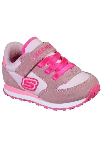 Skechers Kids Sneaker »Retro Sneaks«, mit praktischem Klettriemchen kaufen