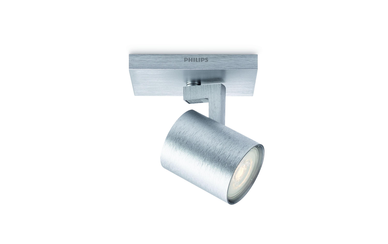 Image of Aufbauspot, Philips, »myLiving Runner 53090/48/P0 Silberfarben«