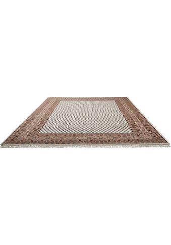 THEKO Orientteppich »Chandi Mir«, rechteckig, 12 mm Höhe, reine Wolle, handgeknüpft, mit Fransen, Wohnzimmer kaufen
