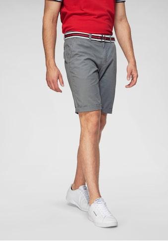 TOM TAILOR Polo Team Shorts, (Set, mit Gürtel) kaufen