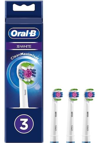 Oral B Aufsteckbürsten »3DWhite CleanMaximiser«, Mit CleanMaximiser-Technologie kaufen