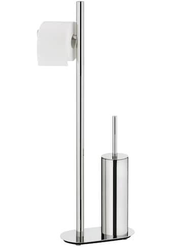 kela WC-Garnitur »Lucido«, mit WC-Bürste und Papierrollenhalter kaufen