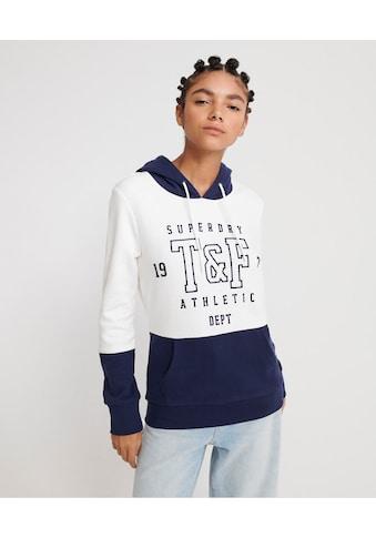 Superdry Kapuzensweatshirt »TRACK & FIELD COL BLOCK HOOD« kaufen