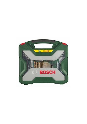 Bohr -  und Bitset, Bosch, »X - Line Titanium« (103tlg.) kaufen