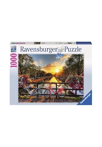 Ravensburger Puzzle »Fahrräder in Amsterdam« kaufen