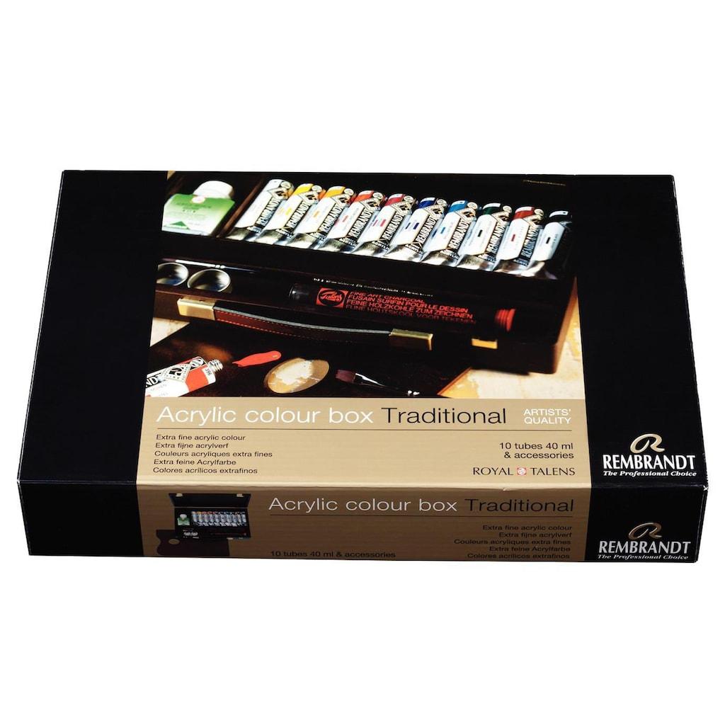Acrylfarbe »Traditional 40 ml, Mehrfarbig«