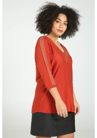 Paprika V - Ausschnitt - Pullover kaufen