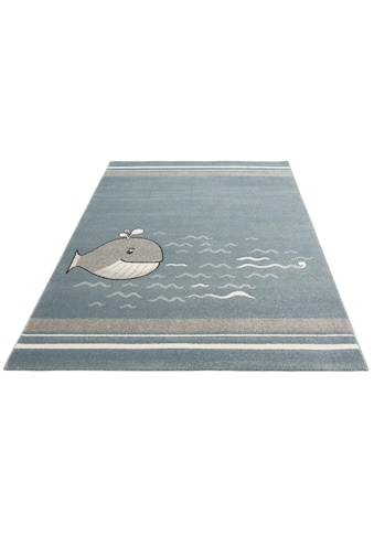 Lüttenhütt Kinderteppich »Whale«, rechteckig, 14 mm Höhe kaufen