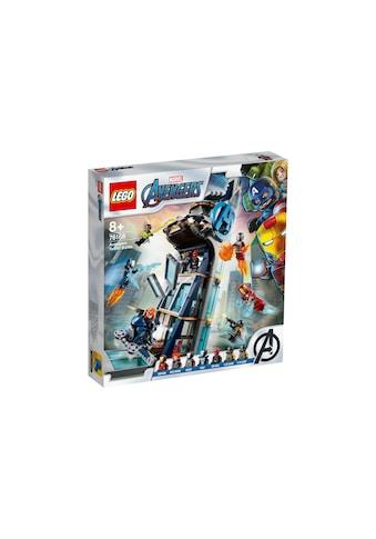 Kräftemessen am Turm, LEGO® Marvel Super Heroes, »76166« kaufen