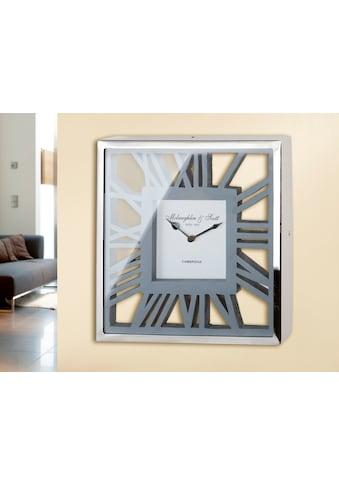 GILDE Wanduhr »Uhr Gris« kaufen