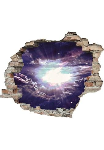 queence Wandtattoo »lila Wolken« (1 Stück) kaufen