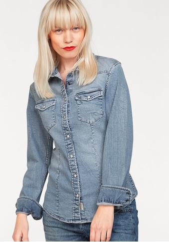 Herrlicher Jeansbluse »LILIEN« kaufen