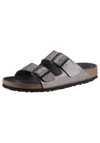 Birkenstock Pantolette »Arizona sparkling«, in schmaler Schuhweite kaufen