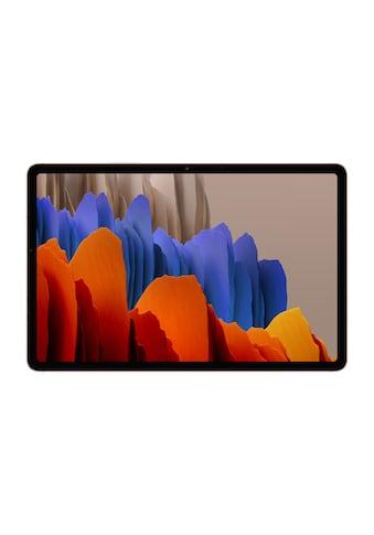 Samsung Tablet »Galaxy Tab S7 SM-T875 LTE 128GB EU Bronzefarben« kaufen
