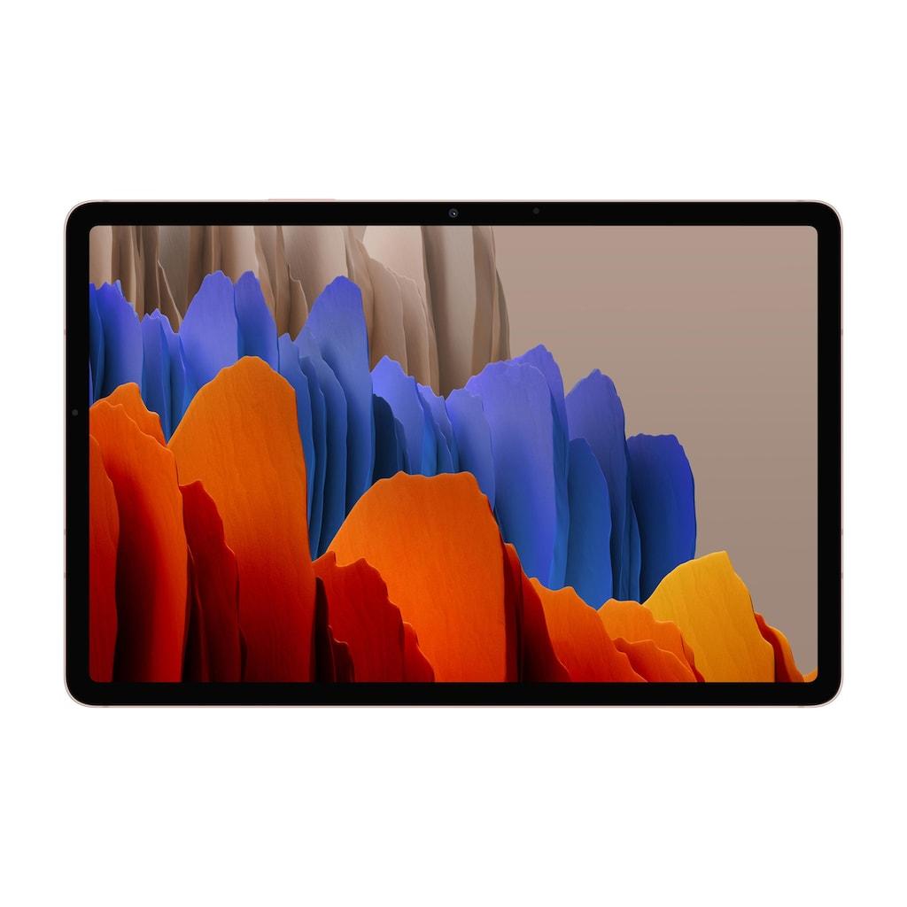 Samsung Tablet »Galaxy Tab S7 SM-T870 128GB EU Bronzefarben«