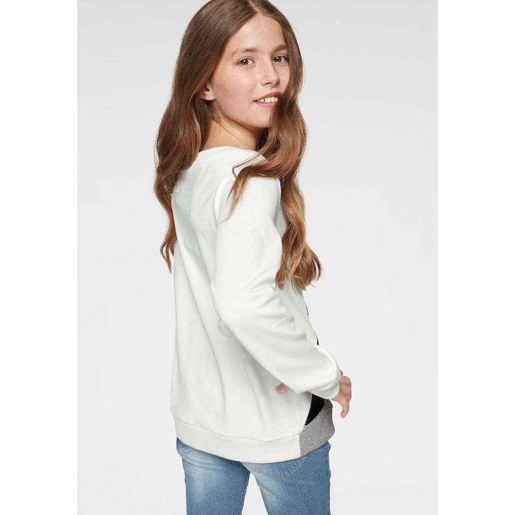 Arizona Sweatshirt, mit Wendepailletten