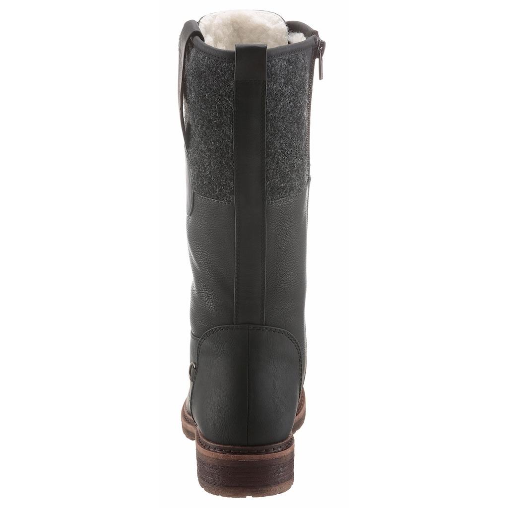 Rieker Schnürstiefel, mit Tex-Ausstattung