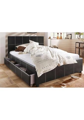 Home affaire Polsterbett »Maja«, in unterschiedlichen Bettgrössen, in zwei schönen... kaufen