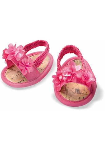 Heless Puppenkleidung »Blüten-Sandalen«, für Puppengrösse 38-45 cm kaufen