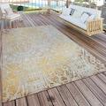 Paco Home Teppich »Artigo 415«, rechteckig, 4 mm Höhe, Vintage Design, In- und Outdoor geeignet, Wohnzimmer