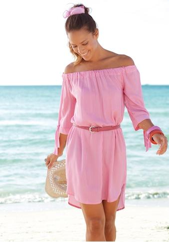 LASCANA Blusenkleid, mit Streifendruck kaufen