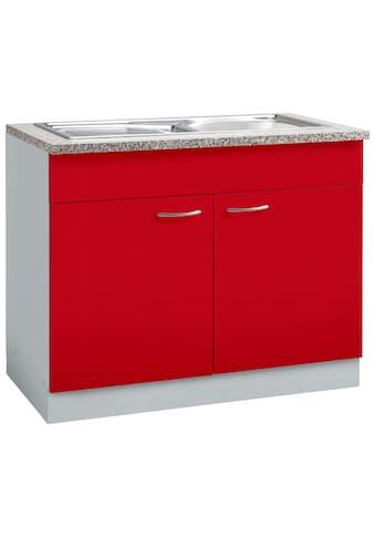 wiho Küchen Spülenschrank »Kiel«, 100 cm breit kaufen