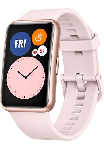 Huawei Smartwatch »Watch Fit«, ( 24 Monate Herstellergarantie) kaufen