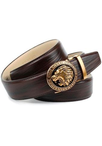 Anthoni Crown Ledergürtel, in angesagter Mokka-Farbe kaufen