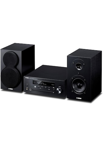 Micro - HiFi  - Anlage, Yamaha, »MusicCast MCR - N470 DAB Schwarz« kaufen