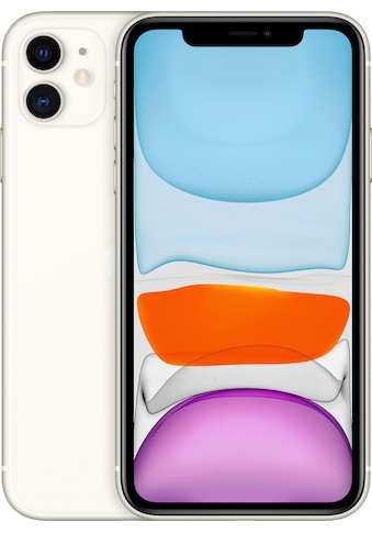 "Apple Smartphone »iPhone 11«, (15,5 cm/6,1 "", 64 GB, 12 MP Kamera), ohne Strom-Adapter... kaufen"