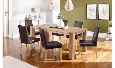 Home affaire Essgruppe »Silje« (Set, 7 - tlg) kaufen