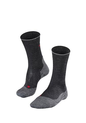 FALKE Wandersocken »TK2 Wool Silk Trekking«, (1 Paar), mit mittelstarker Polsterung kaufen